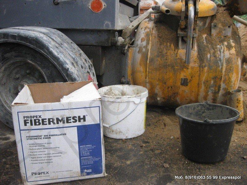 Стяжка цементная с фиброй - Полусухая стяжка с фиброволокном