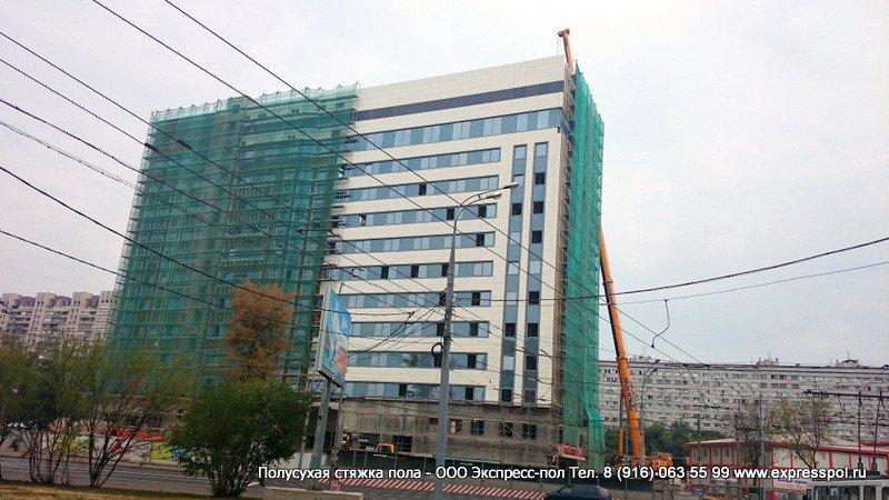 Строительство здания Прокуратуры г. Москва