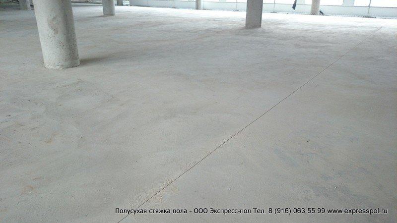 Промышленные полы, бетонная подготовка