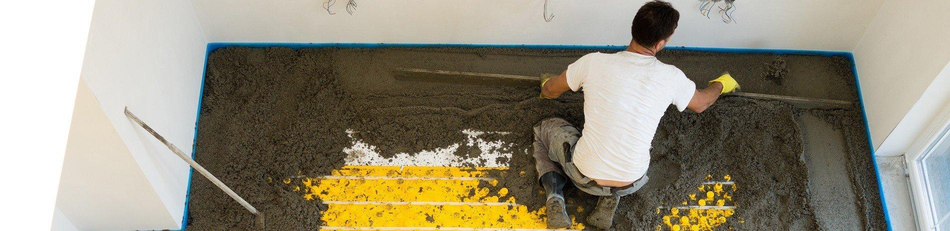 Полусухая стяжка или марочный бетон на гранитном щебне. Чем лучше залить ТП?