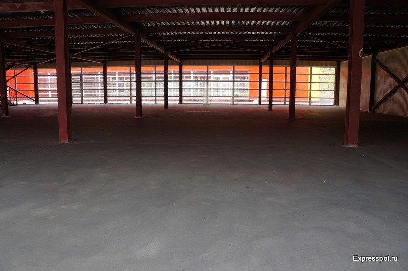 помещение склада, прочность пола м200
