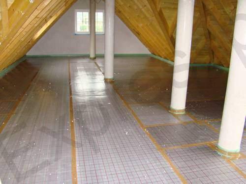 Теплоизоляция фольга под теплый пол