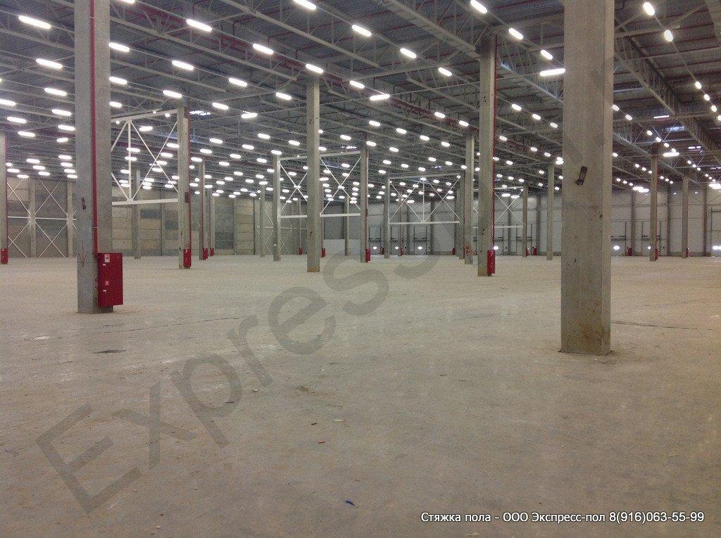 Складской комплекс, бетонные полы