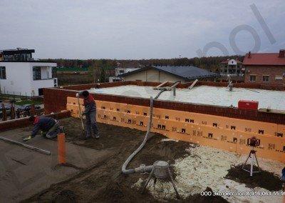 Процесс работ на крыше