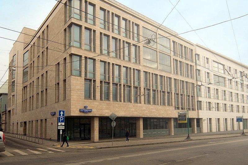 Клубный жилой дом на ул. Остоженка