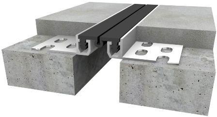 Пример деформационного шва с плиткой