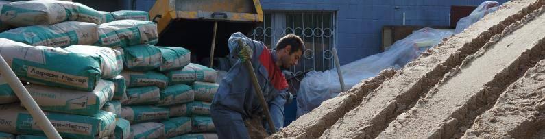 Стяжки из цемента и песка
