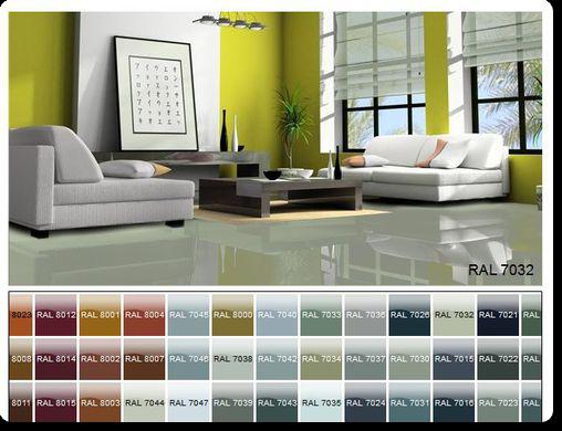 Наливной пол в квартире, полимерные полы разных цветов