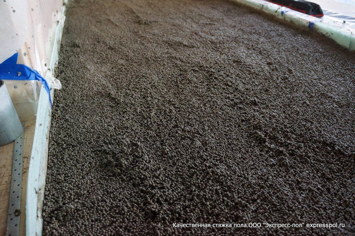 полимтирол бетон поднять полы