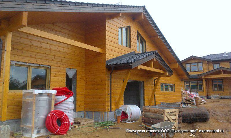 вариант строительства деревянных домов по Канадской технологии