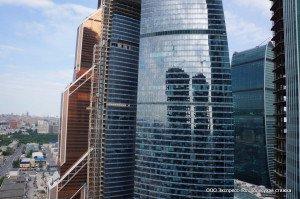 Делано в небоскребе Око «Москва Сити»