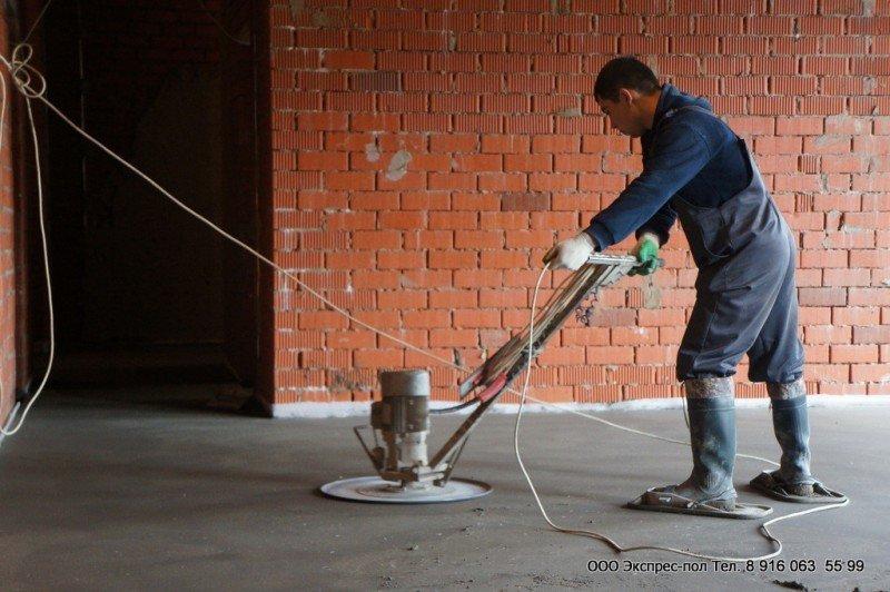 Цементно-песчаная стяжка с применением полипропиленового волокна