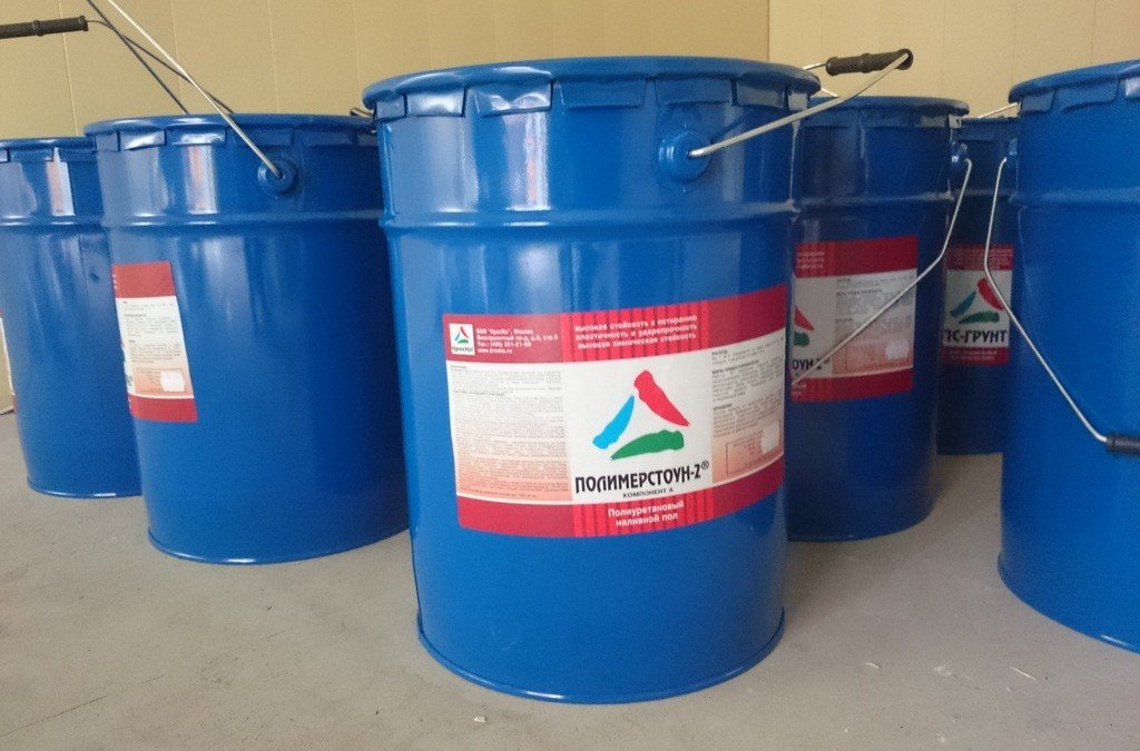 Полимерные полы Подготовительные работы, основные операции.