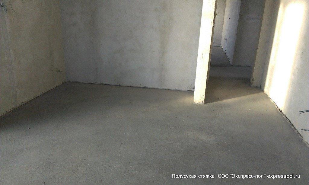 Загородный дом, выравнивание пола под плитку и паркет