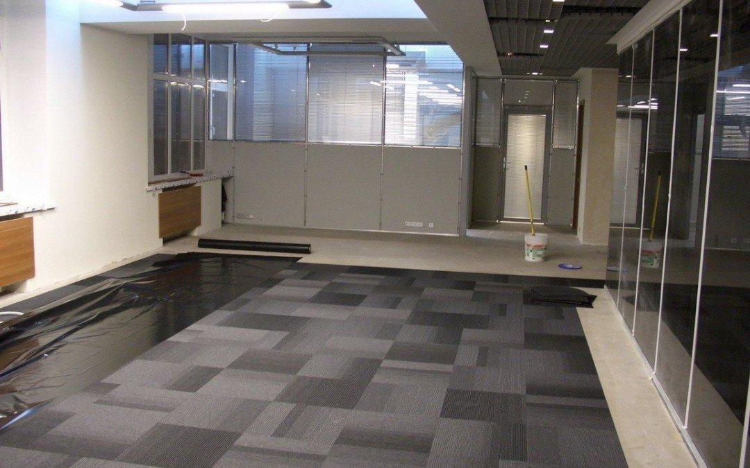 Представительские полы в офисе. Подготовим качественное основание.
