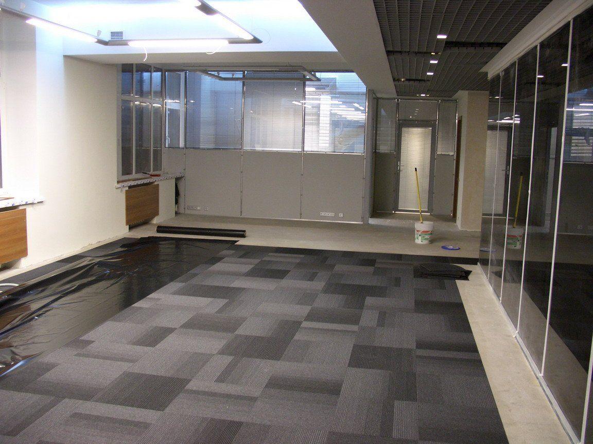 Укладка пвх плитки в офисе (2)