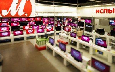 Полы — торговый центр Реутов Парк магазин М-видео