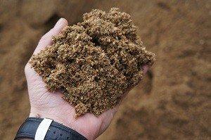сеяный песок для стяжки