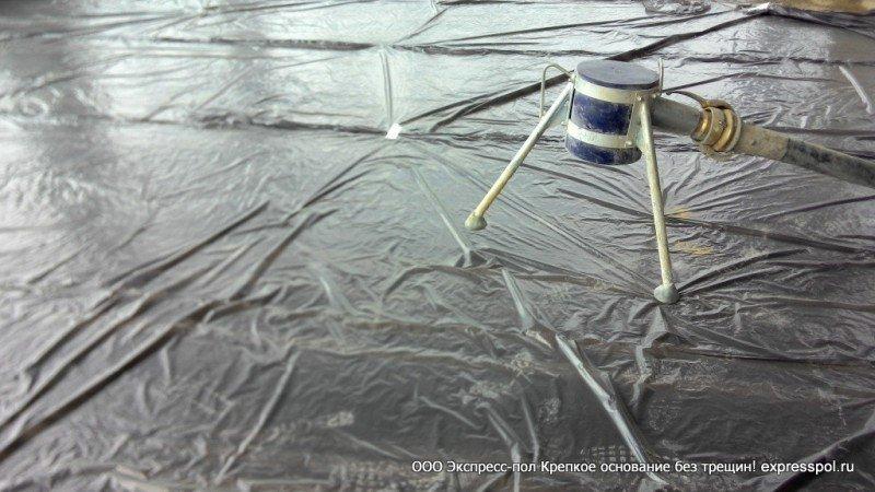 пароизоляция бетонный пол м300