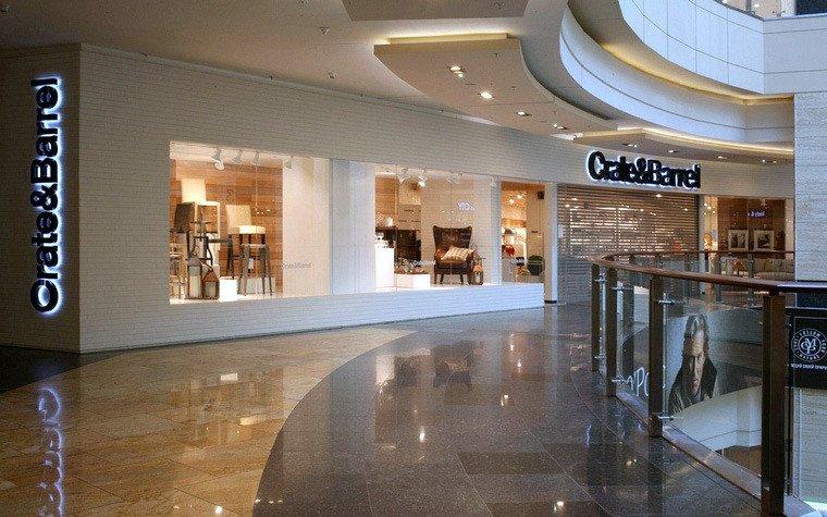Стяжка пола — торговый центр Афимолл магазин Create&Barrel
