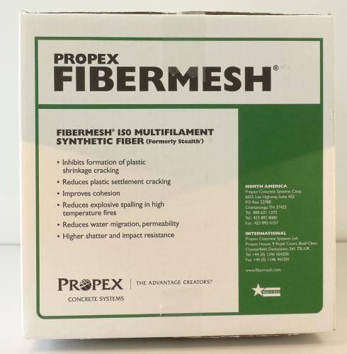 Фиброволокно для цементных растворов. Применяем Propex 12 мм.