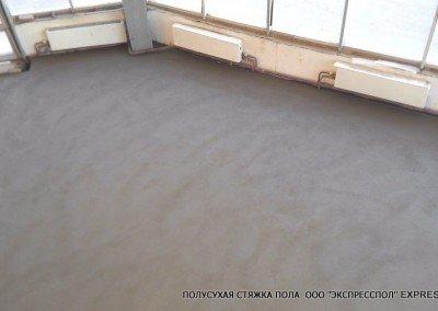 Стяжка бетонного пола
