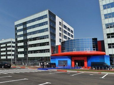 Здание МФТИ Технопарк пос. Северный