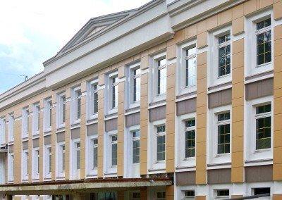 Спортивные сооружения — административно-гостиничный корпус