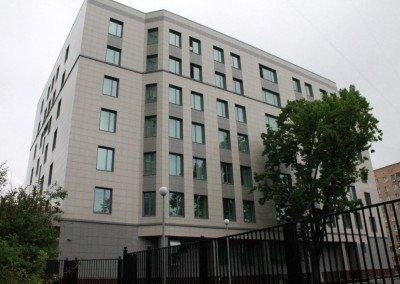 Здание Измайловского суда комплексное устройство полов