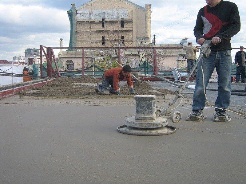 Особняк в центре Москвы. Кровля с разуклонкой