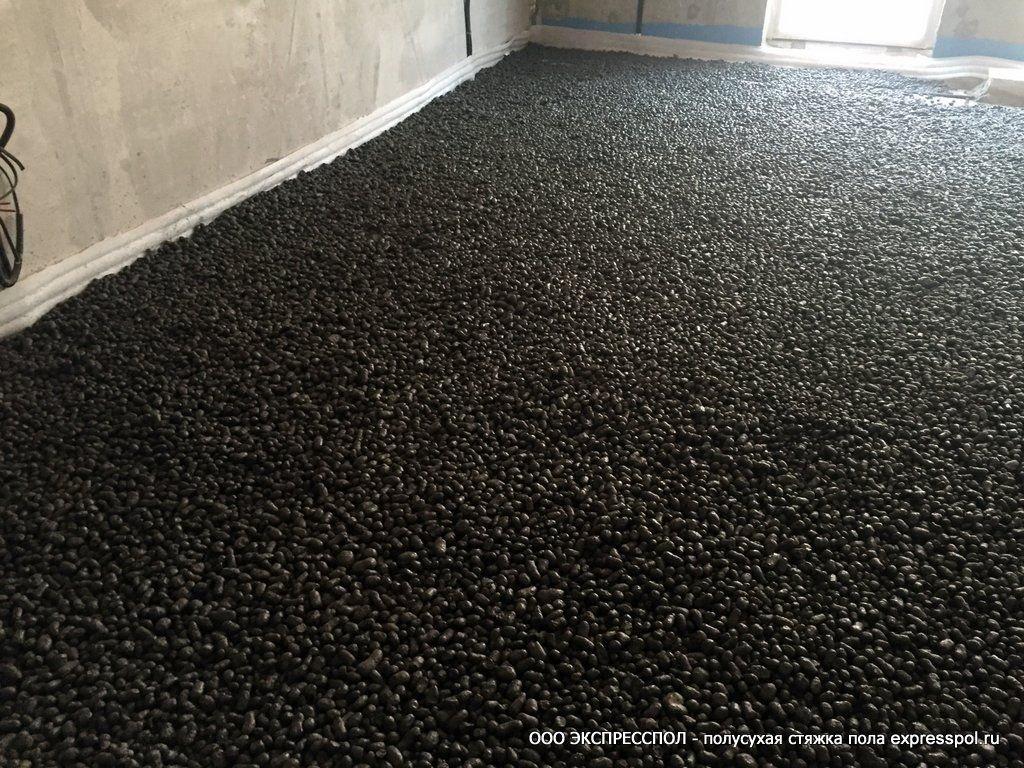 подготовка, керамзит с цементом