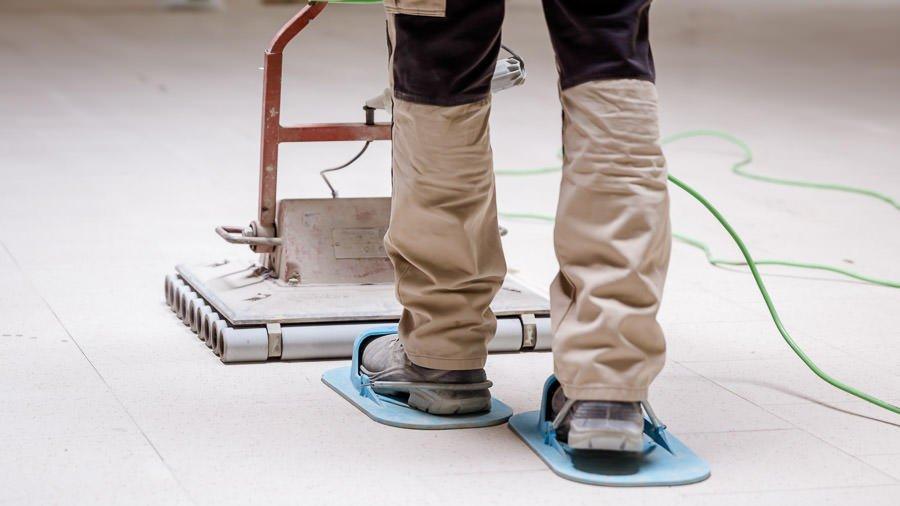 Укладка плитки за 1 день методом вибровтапливания — Видео