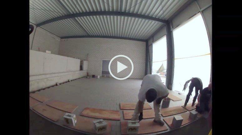 Укладка плитки (видео) методом виброукладка керамической плитки