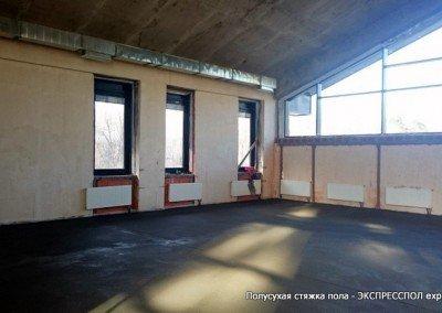 Стяжка в спотивном центре Школа, Академия бокса