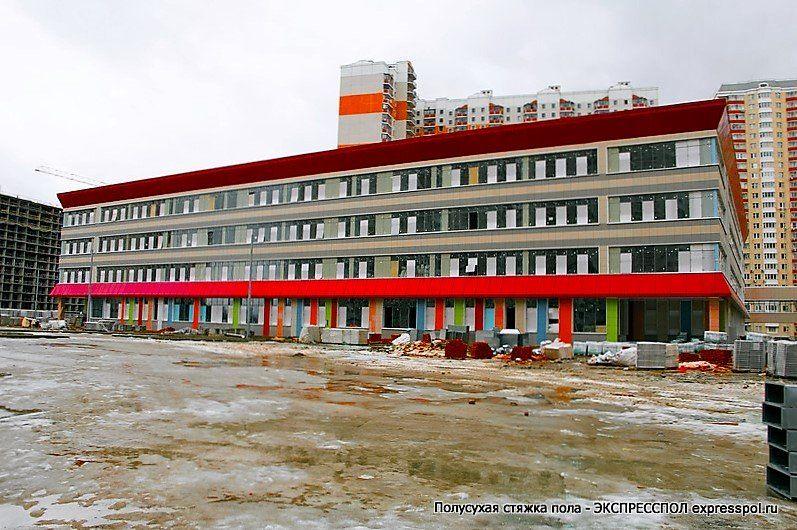 Объект компании ЭКСПРЕССПОЛ - Школа в Путилково