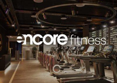 Устройство полов — фитнес центр Encore Fitness в башне «ОКО»