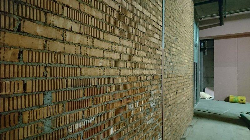 кладка стен из кирпича World Class