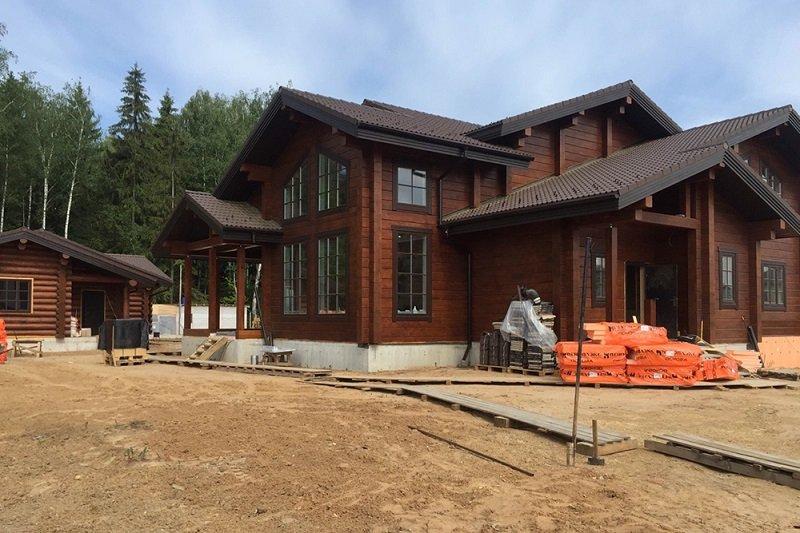 загородный дом, строительство