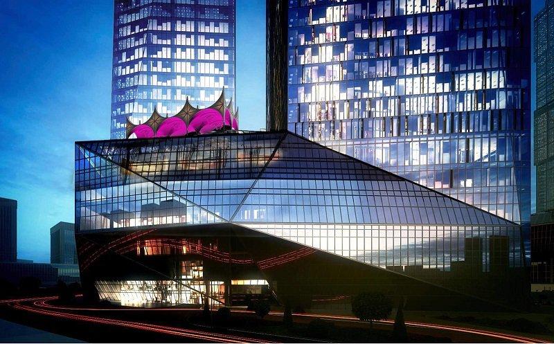 Мэрия Москвы в башне «ОКО» Москва Сити