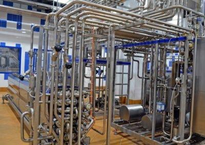 Молочный завод Молти кислотостойкие полы