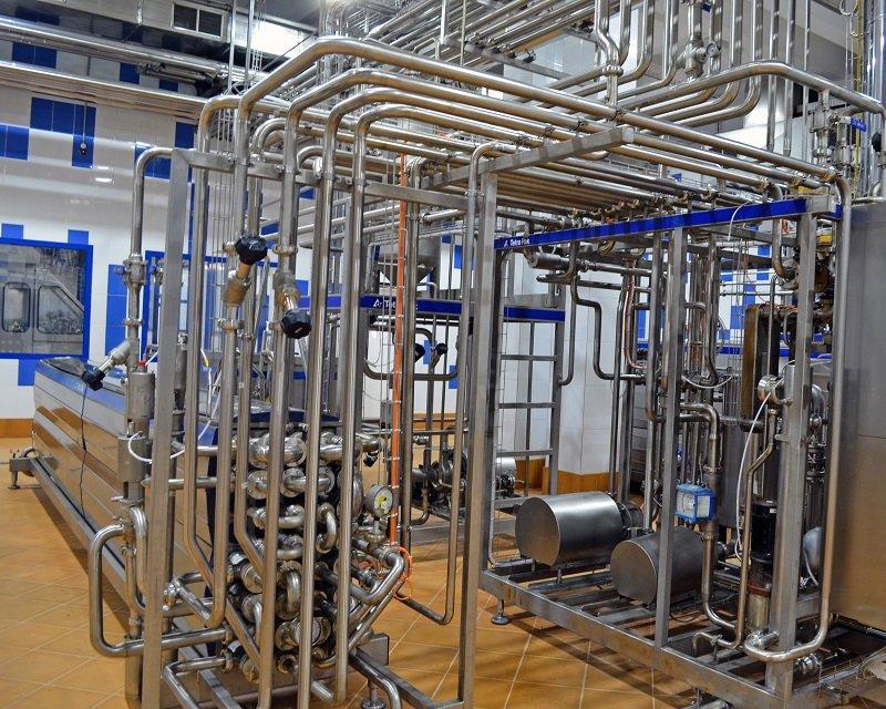 троительство молочного завода
