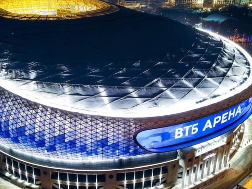 Строительство стадиона Динамо VTB Arena Park