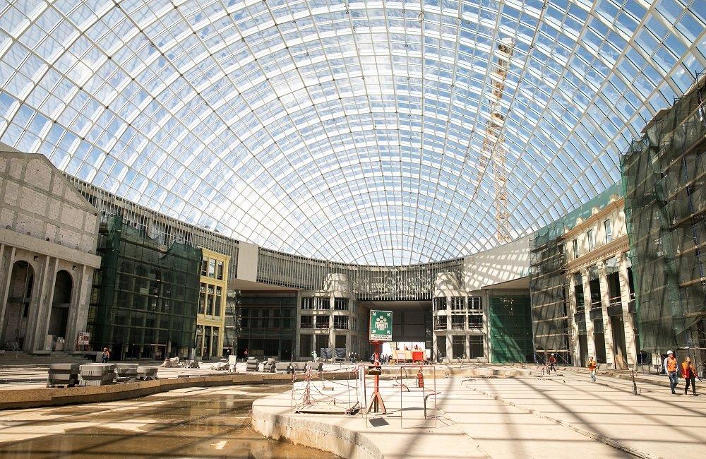 Диснейленд в Москве стройка