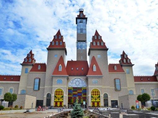 Строительство парка Остров Мечты — тематический парк