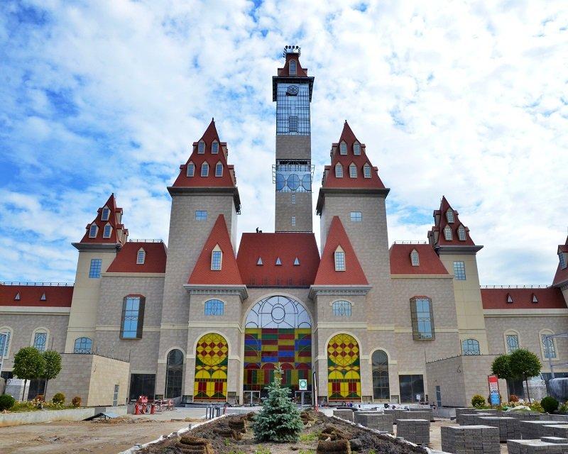 Строительство парка Остров Мечты – тематический парк