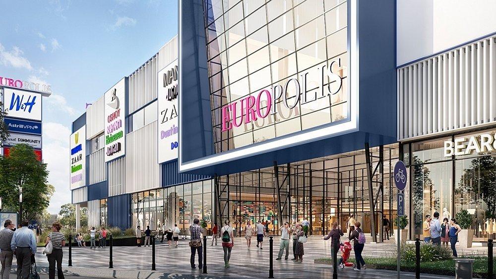 Торговый центр ЕВРОПОЛИС в Ростокино