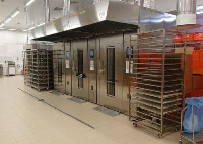 Пищевое производство пекарня