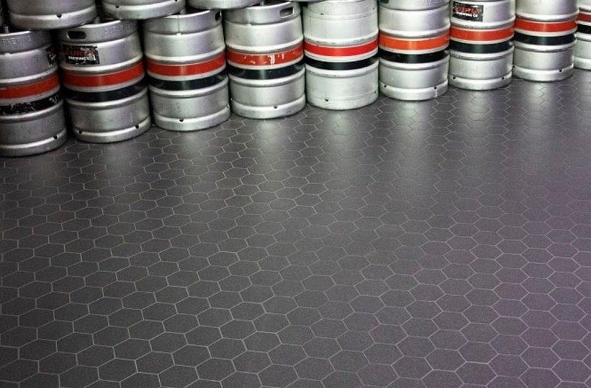 щелочестойкие полы для производства напитков